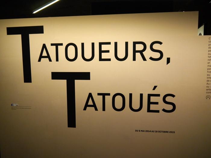 Exposition Tatoueurs, Tatoués au Musée du Quai Branly