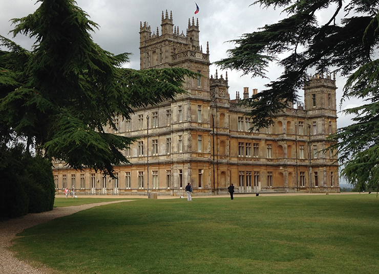 Visite du ch teau d highclere castle downton abbey zest for art exposit - Chateau downton abbey ...